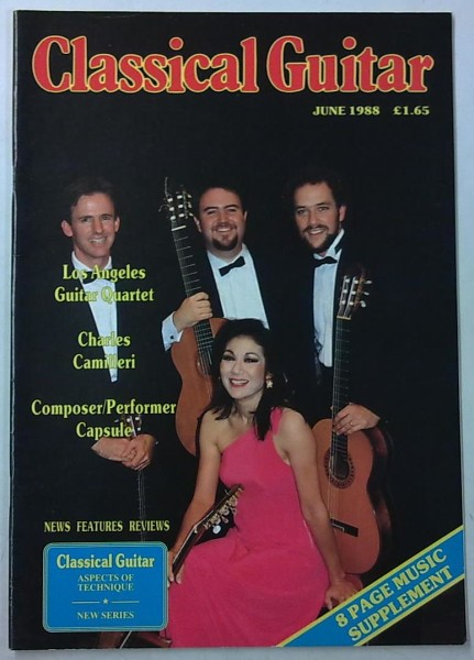 Classical Guitar June 1988 (Vol.6, No.10),