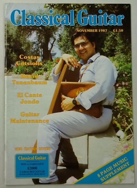 Classical Guitar November 1987 (Vol.6, No.3),