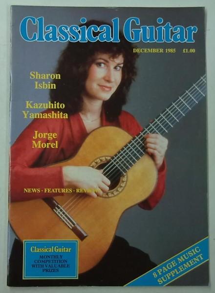 Classical Guitar December 1985 (Vol.4, No.4),