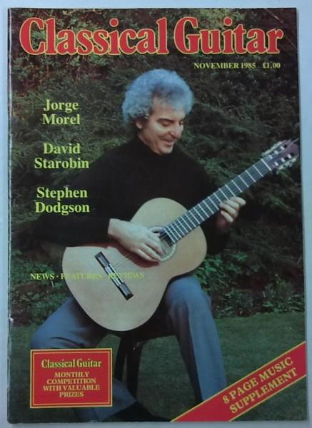 Classical Guitar November 1985 (Vol.4, No.3),