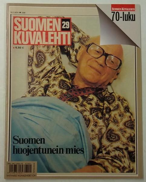 Suomen kuvalehti 1970-luku,