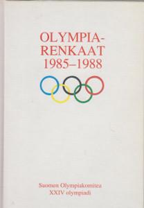 Olympiarenkaat 1985-1988 : Suomen olympiakomitea : XXIV olympiadi Calgary - Soul, Markku Siukonen