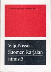 Suomen Karjalan nimistö, Viljo Nissilä