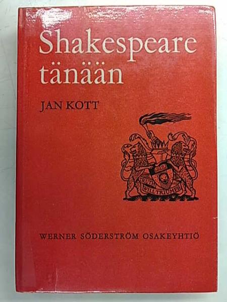 Shakespeare tänään, Jan Kott