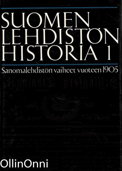 Suomen lehdistön historia 1-10, Päiviö Tommila