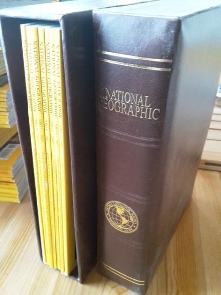 National Geographic Suomi 2007 vuosikerta (numerot 1-15 keräilykoteloissa),