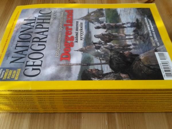 National Geographic Suomi 2012 vuosikerta (numerot 1-12),