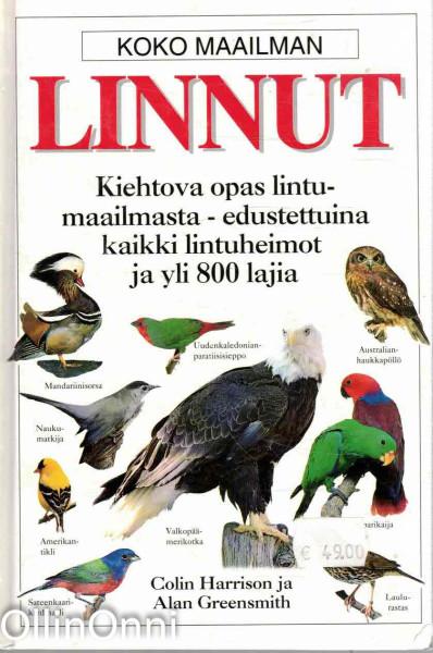 Koko maailman linnut, Colin Harrison