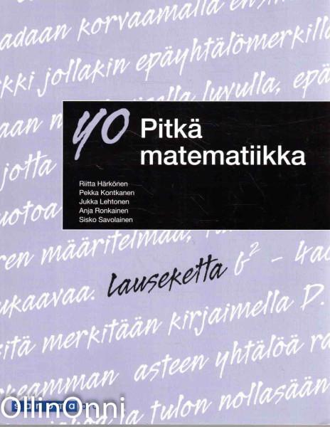 YO pitkä matematiikka, Riitta Härkönen