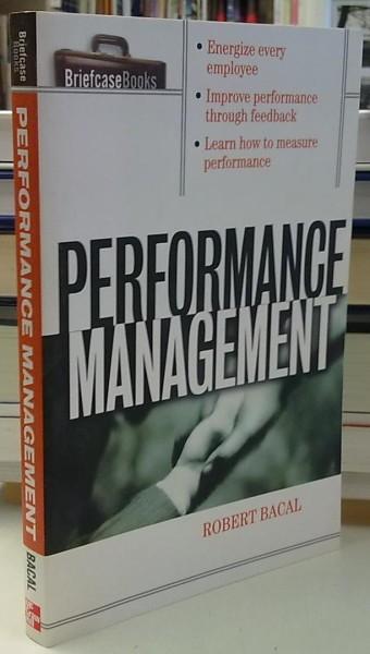 Performance Management, Robert Bacal