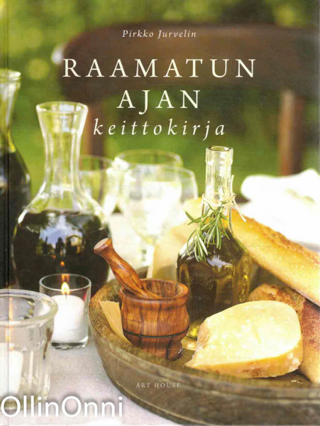 Raamatun ajan keittokirja, Pirkko Jurvelin