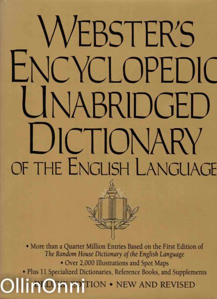 Webster's Encyclopedic Unabridged Dictionary of the English Language, Ei tiedossa