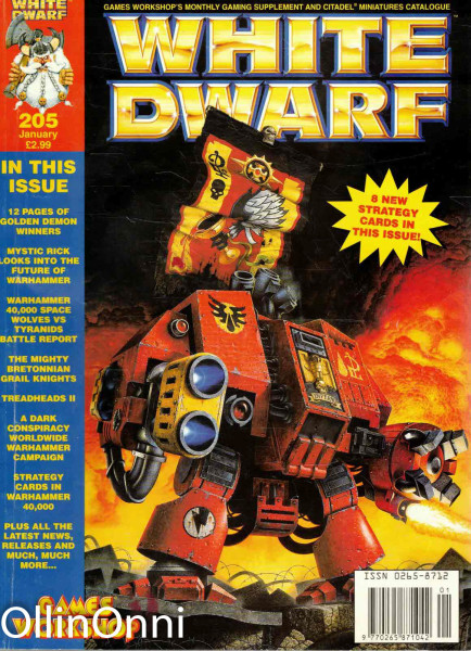 White Dwarf 205/1996, Jake Thornton