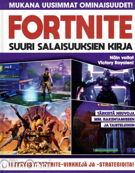 Fortnite - Suuri salaisuuksien kirja, Simon Brew
