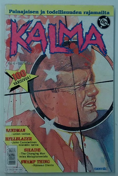 Kalma 1991-04 (Sandman, Hellblazer, Shade, Swamp Thing),