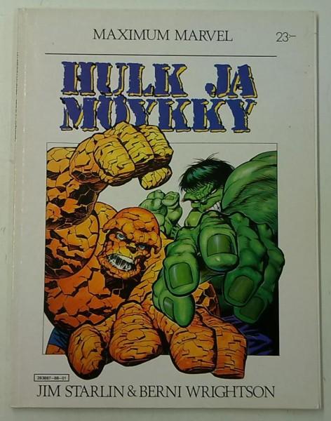 Maximum Marvel - Hulk ja Möykky, Jim Starlin