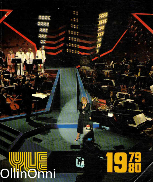 YLE - Yleisradion vuosikirja 1.6.1979-31.5.1980, Atte Larma
