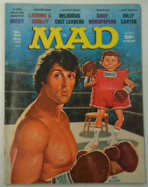 MAD No. 194 October 1977,