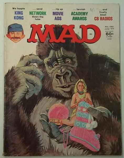 MAD No. 192 July 1977,