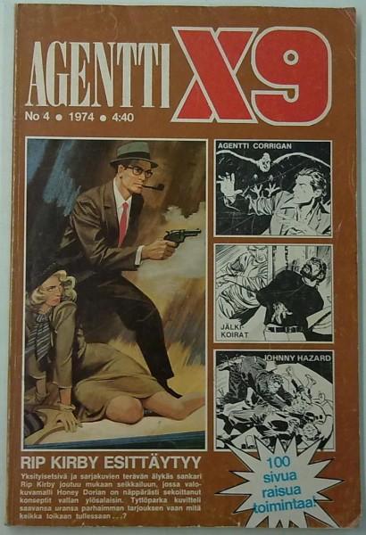 Agentti X9 1974-04,