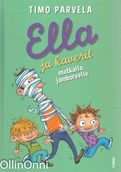 Ella ja kaverit matkalla jamboreelle, Timo Parvela
