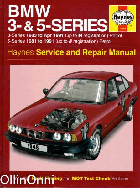 BMW 3- & 5-Series - Haynes Service and Repair Manual, A.K. Legg