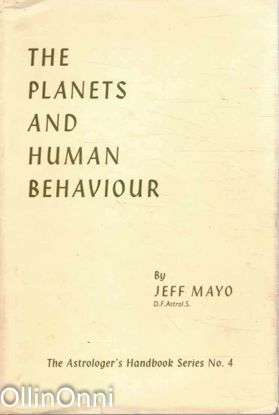 The Planets and Human Behaviour, Jeff Mayo