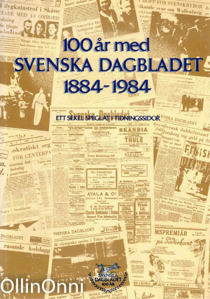 100 år med Svenska Dagbladet 1884-1984, Lars Lagerstedt