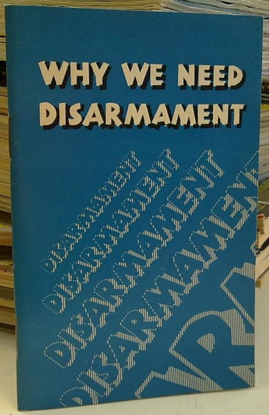 Why we need disarmament, Igor Glagolev
