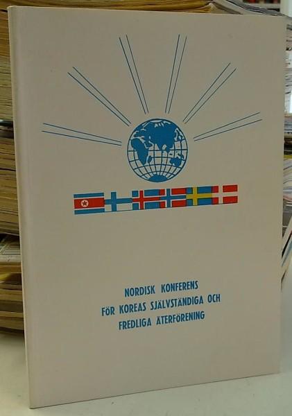Nordisk konferens för Koreas självständiga och fredliga återförening 17.11.1973, Christina Nordgren-Ra