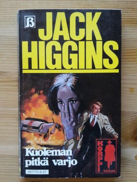 Korppi-sarja 7 - Kuoleman pitkä varjo, Jack Higgins