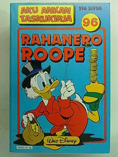 Aku Ankan taskukirja 96 - Rahanero Roope,
