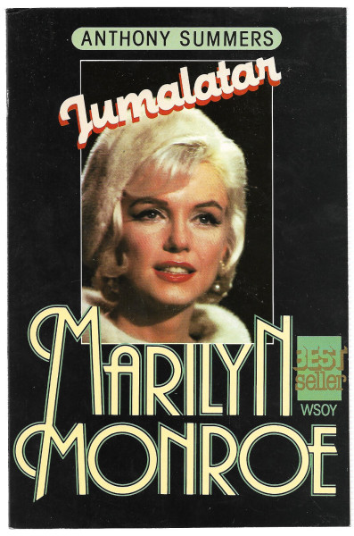 Jumalatar : Marilyn Monroe, Anthony Summers