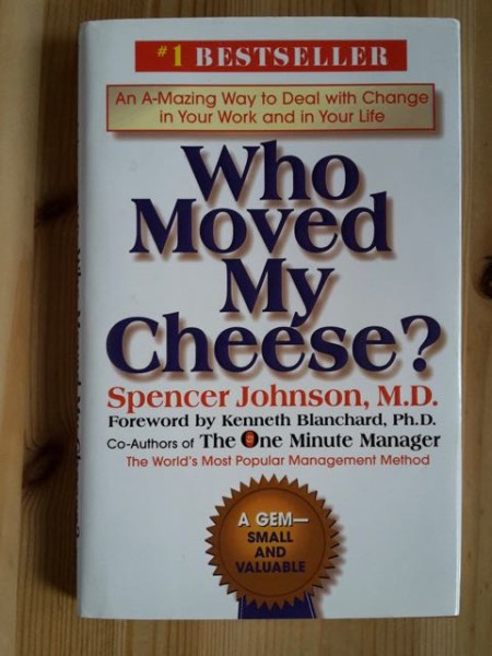Who Moved My Cheese?, Spencer Johnson