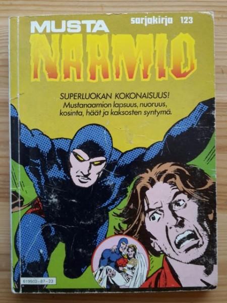 Sarjakirja 123 Mustanaamio,