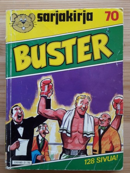 Sarjakirja 70 Buster,