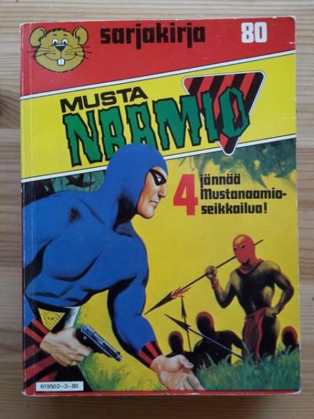 Sarjakirja 80 Mustanaamio,