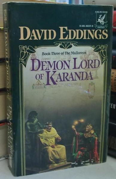 Demon Lord of Karanda - Book Three of The Malloreon, David Eddings