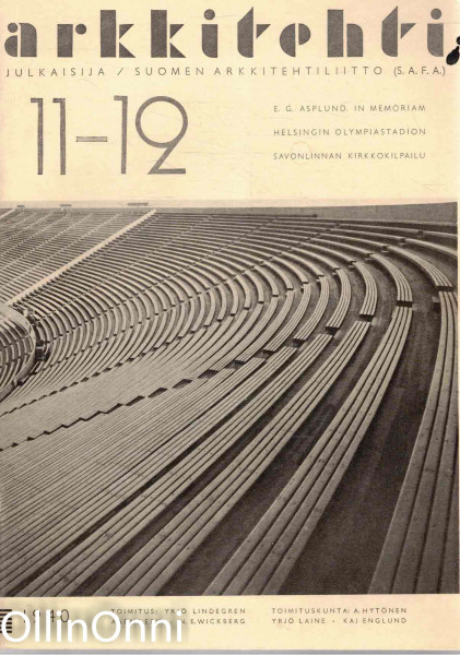 Arkkitehti 11-12/1940, Useita