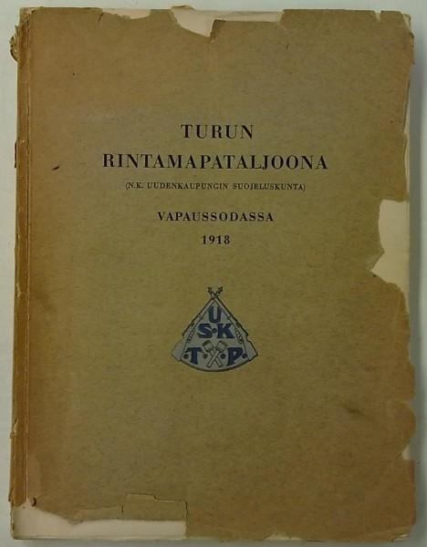 Turun rintamapataljoona vapaussodassa 1918 (N.k. Uudenkaupungin suojeluskunta), V.J. Marjanen