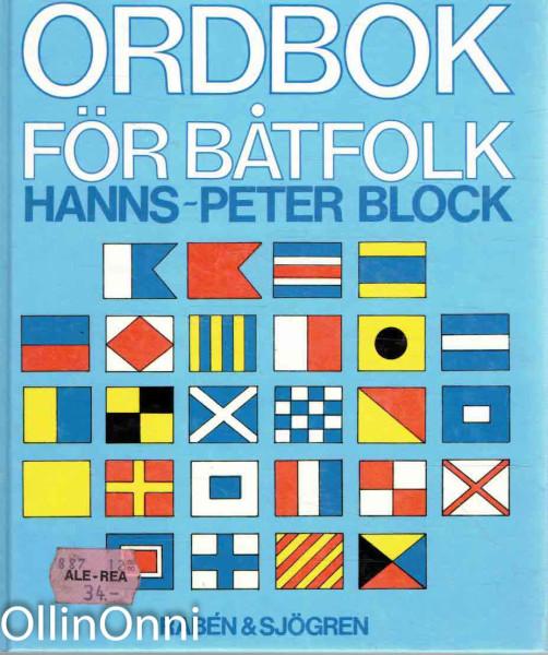 Ordbok för båtfolk, Hanns-Peter Block