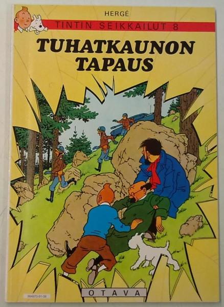 Tuhatkaunon tapaus - Tintin seikkailut 8, Hergé Hergé
