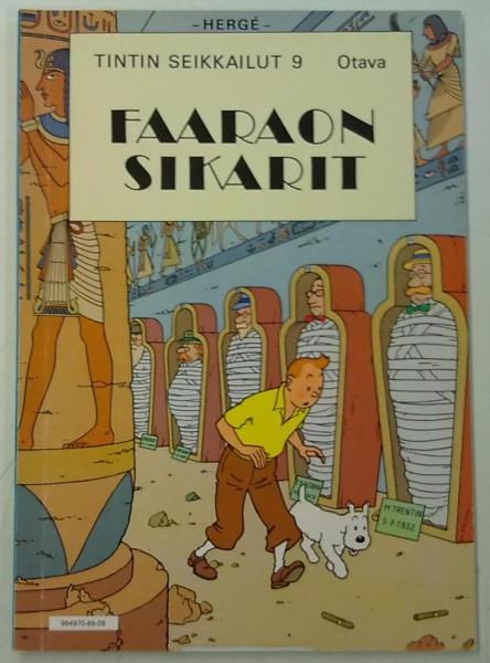 Faaraon sikarit - Tintin seikkailut 9, Hergé Hergé