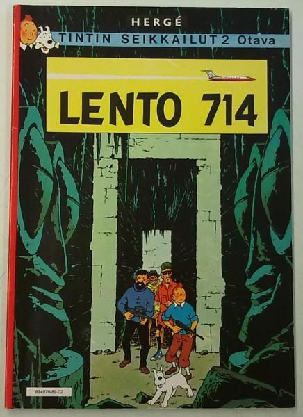 Lento 714 - Tintin seikkailut 2, Hergé Hergé