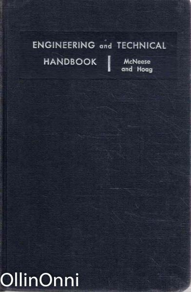 Engineering and Technical Handbook, Donald C. McNeese