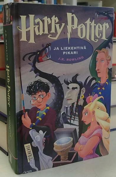 Harry Potter ja liekehtivä pikari, J.K. Rowling