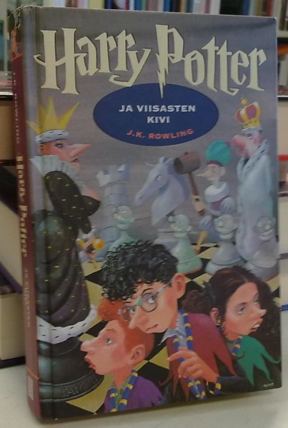 Harry Potter ja viisasten kivi, J.K. Rowling