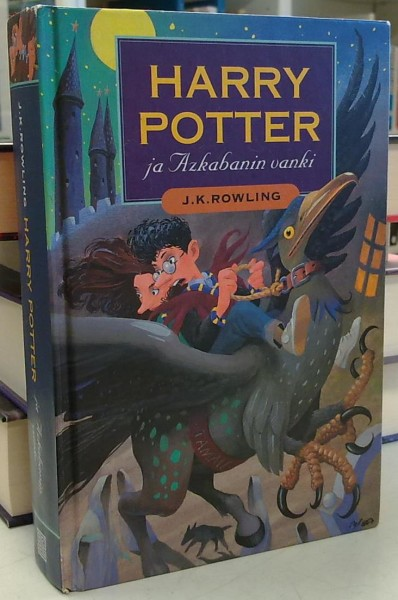 Harry Potter ja Azkabanin vanki, J.K. Rowling