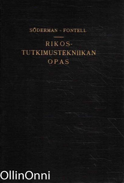 Rikostutkimustekniikan opas, Harry Söderman