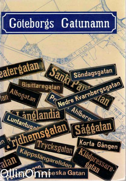 Göteborgs gatunamn, Carl Sigfrid Lindstam